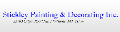 Stickley Painting & Decorating, Inc.